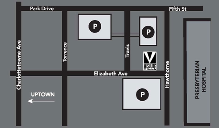 Parking Information for The Visulite Theatre