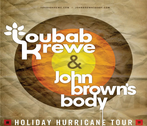 TOUBAB KREWE & JOHN BROWN'S BODY