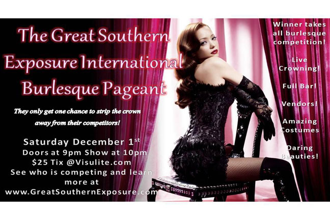 THE GREAT SOUTHERN EXPOSURE INTERNATIONAL BURLESQUE PAGEANT