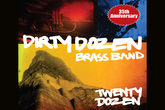 DIRTY DOZEN BRASS BAND**ONLINE SALES HAVE ENDED- TICKETS STILL AVAIL AT DOORS AT 8PM