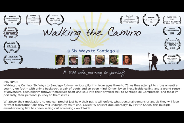 Walking the Camino: Six Ways to Santiago ***Sold Out***