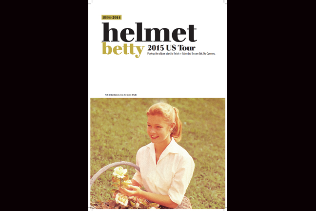 HELMET   2015 BETTY U.S. TOUR