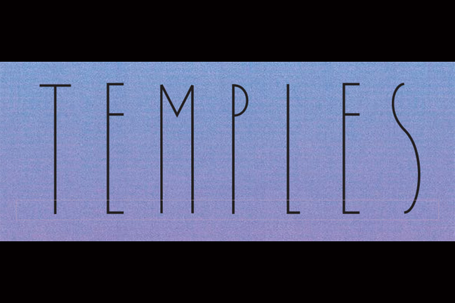 TEMPLES - Wednesday, June 10, 2015 at Visulite Theatre