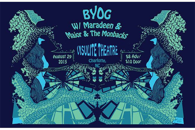 BYOG + Maradeen + Major and The Monbacks