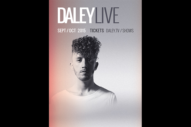 DALEY  - Friday, February 19, 2016 at Visulite Theatre