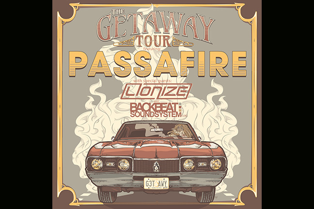 PASSAFIRE - Sunday, October 18, 2015 at Visulite Theatre