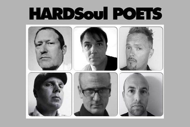 HARDSoul POETS - Friday, October 23, 2015 at Visulite Theatre