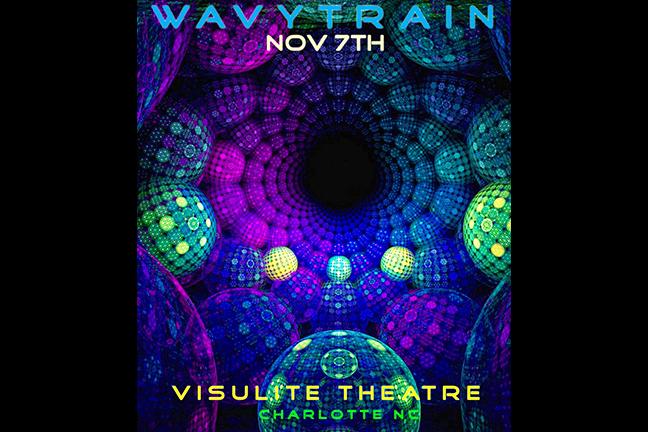 WAVY TRAIN - Saturday, November 7, 2015 at Visulite Theatre