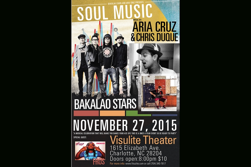 Bakaloa Stars - Friday, November 27, 2015 at Visulite Theatre