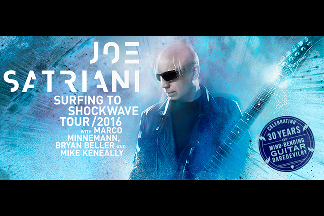 JOE SATRIANI: FROM SURFING TO SHOCKWAVE