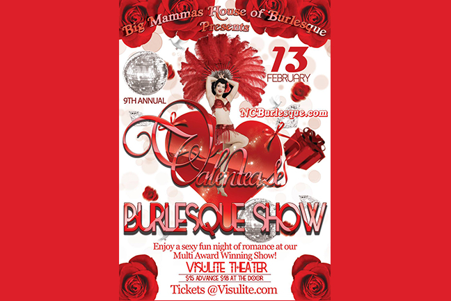 BIG MAMAS HOUSE OF BURLESQUE Presents - Valentease Burlesque Show