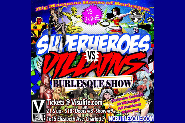 BIG MAMMAS HOUSE OF BURLESQUE Presents - Heroes & Villains