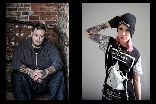 Jelly Roll and Whitney Peyton - Tuesday, August 9, 2016 at Visulite Theatre