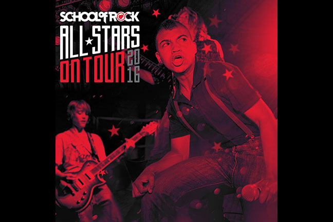 SCHOOL OF ROCK ALLSTARS - Tuesday, July 19, 2016 at Visulite Theatre
