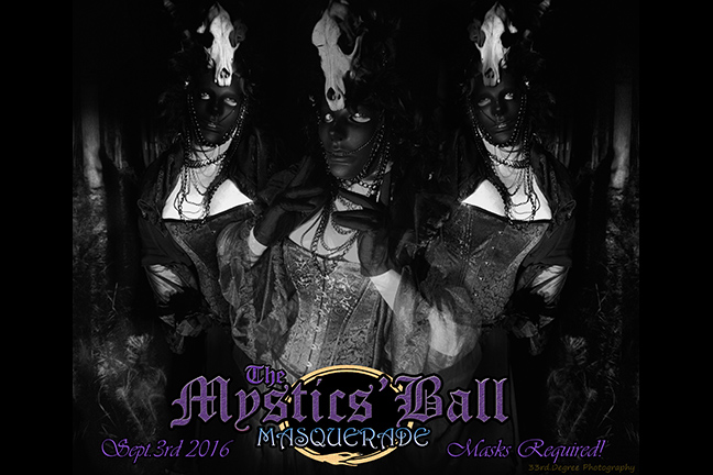 MANDYLAND PRESENTS: THE MYSTICS' BALL - MASQUERADE - Saturday, September 3, 2016 at Visulite Theatre
