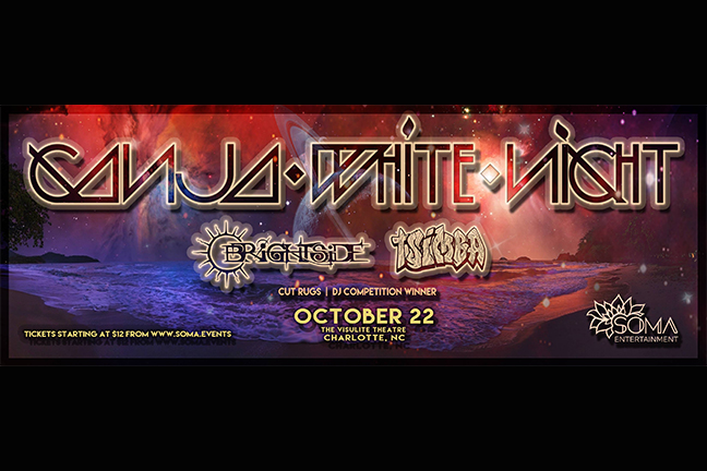 GANJA WHITE KNIGHT - Saturday, October 22, 2016 at Visulite Theatre
