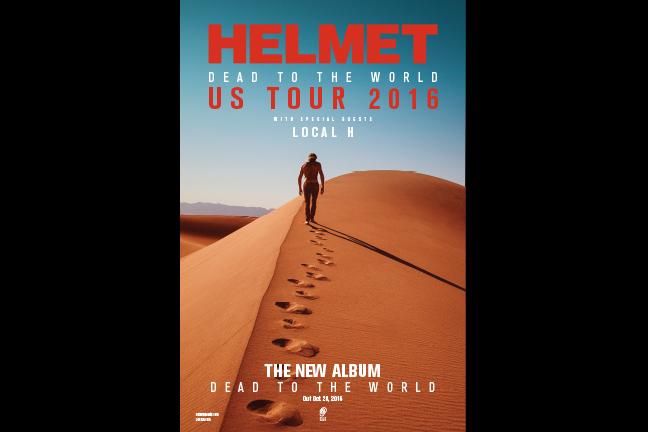 HELMET - Wednesday, November 16, 2016 at Visulite Theatre