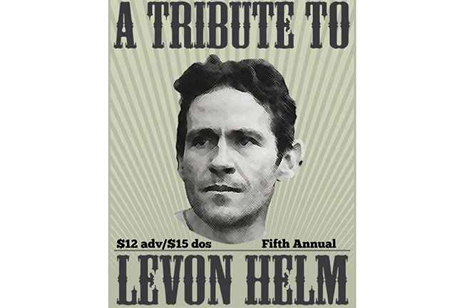 LEVON HELM TRIBUTE Featuring The New Familiars & Friends