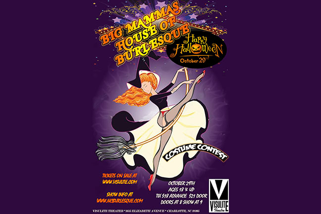 BIG MAMMAS HOUSE OF BURLESQUE HALLOWEEN SHOW!