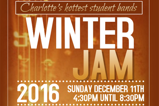 BALLANTYNE SCHOOL OF MUSIC Presents: WINTER JAM 2016 - Sunday, December 11, 2016 at Visulite Theatre