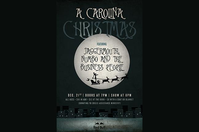 A CAROLINA CHRISTMAS - Wednesday, December 21, 2016 at Visulite Theatre
