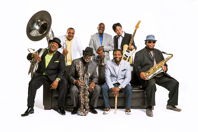 DIRTY DOZEN BRASS BAND - Sunday, February 19, 2017 at Visulite Theatre