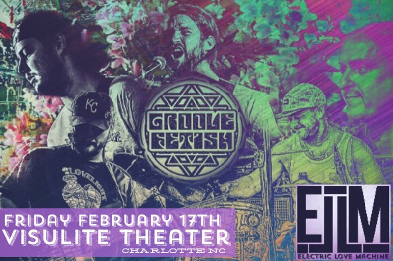 GROOVE FETISH - Friday, February 17, 2017 at Visulite Theatre
