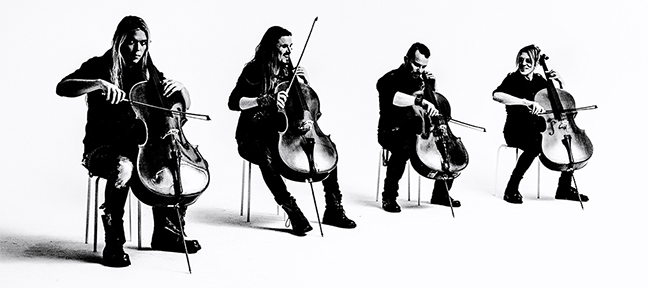 APOCALYPTICA – PLAYS METALLICA BY FOUR CELLOS TOUR