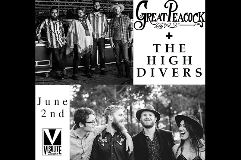 THE HIGH DIVERS  &  GREAT PEACOCK