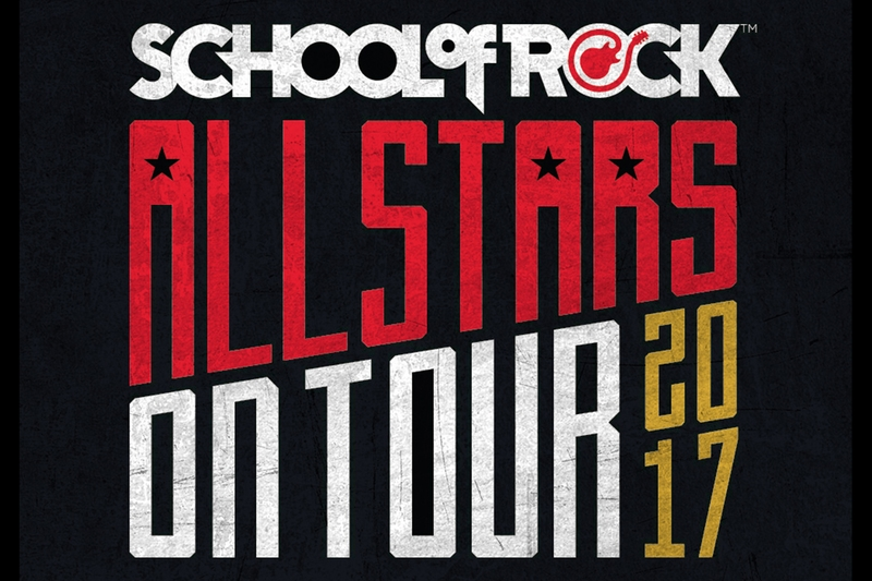 SCHOOL OF ROCK ALLSTARS - Wednesday, July 26, 2017 at Visulite Theatre