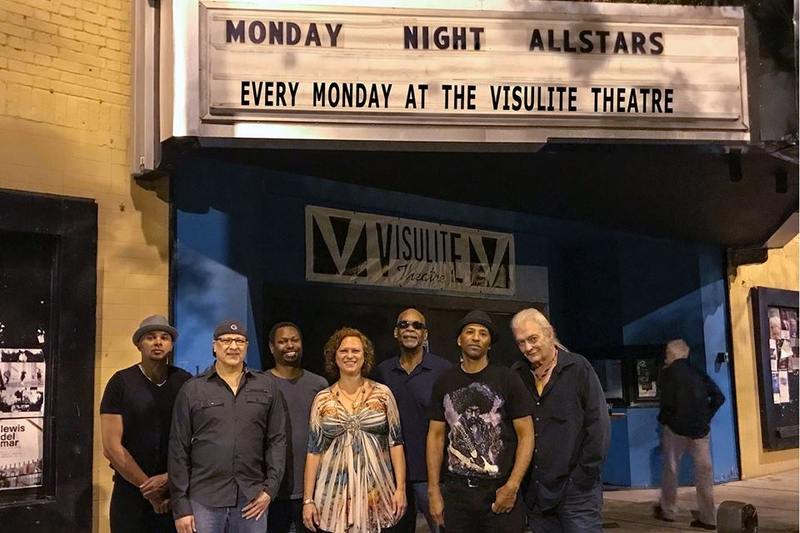 THE MONDAY NIGHT ALLSTARS - Monday, July 3, 2017 at Visulite Theatre