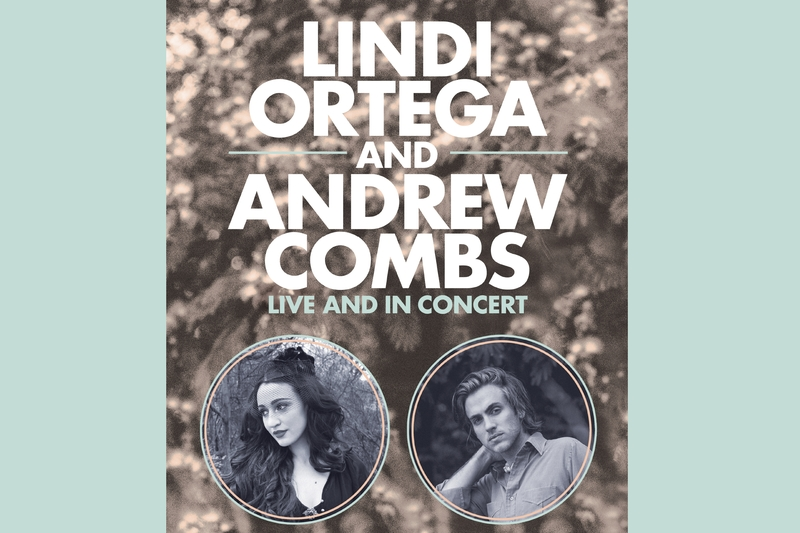ANDREW COMBS + LINDI ORTEGA - Sunday, September 17, 2017 at Visulite Theatre