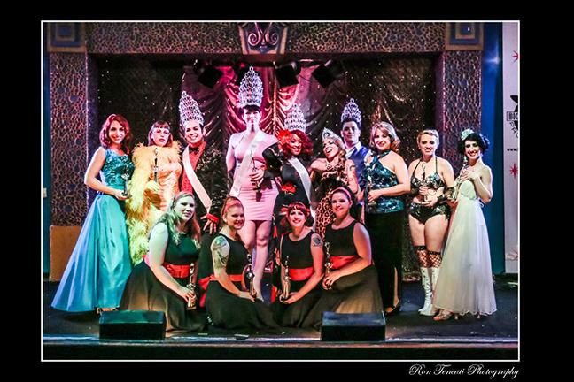 BIG MAMMAS HOUSE OF BURLESQUE: THE GREAT SOUTHERN EXPOSURE BURLESQUE & VARIETY ARTS PAGEANT - Saturday, December 9, 2017 at Visulite Theatre