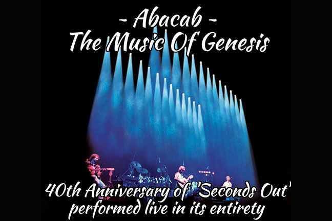 Abacab - Friday, October 27, 2017 at Visulite Theatre