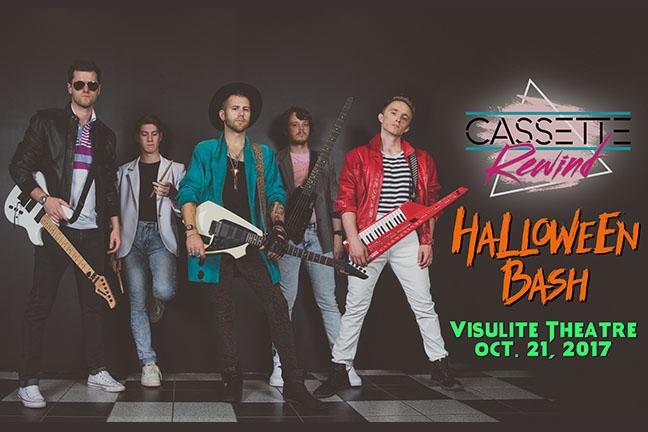CASSETTE REWIND - Saturday, October 21, 2017 at Visulite Theatre