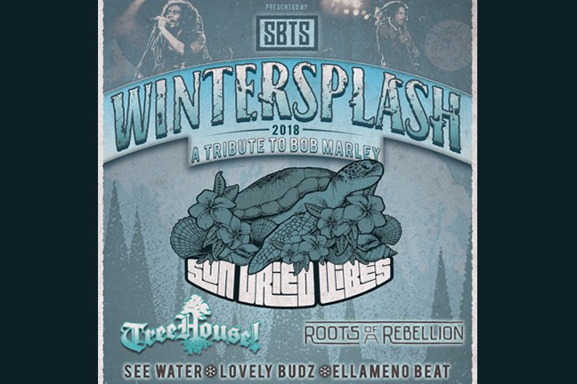 SUN DRIED VIBES - 7th ANNUAL WINTER SPLASH - Saturday, February 17, 2018 at Visulite Theatre