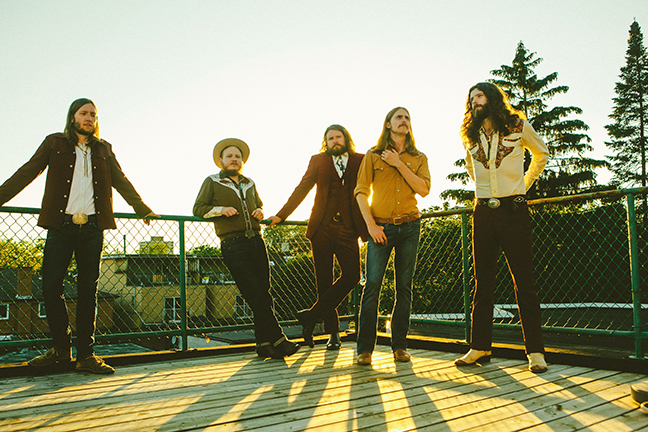 THE SHEEPDOGS - Wednesday, July 25, 2018 at Visulite Theatre