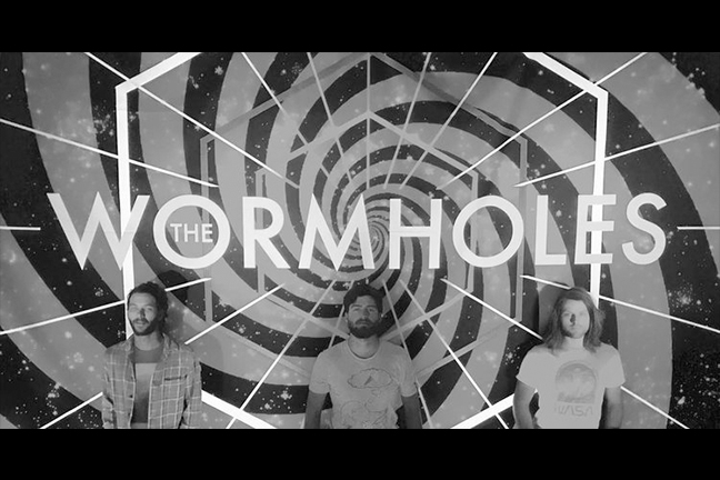 THE WORMHOLES - Friday, August 3, 2018 at Visulite Theatre
