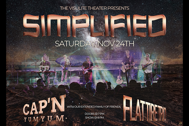 SIMPLIFIED - Saturday, November 24, 2018 at Visulite Theatre