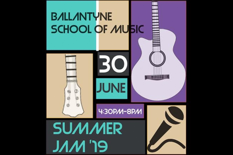 BALLANTYNE SCHOOL OF MUSIC PRESENTS: SUMMER JAM '19 - Sunday, June 30, 2019 at Visulite Theatre