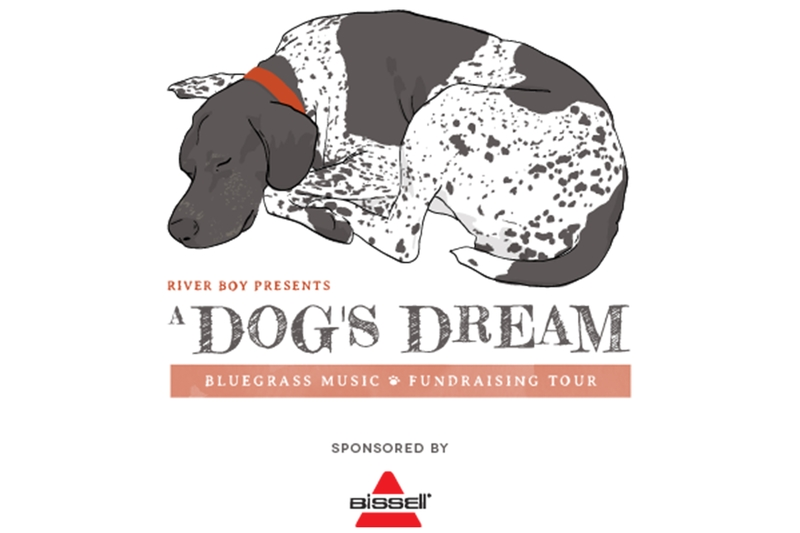 A DOG'S DREAM - BLUEGRASS FUNDRAISING CONCERT FOR HUMANE SOCIETY OF CHARLOTTE ft. RIVER BOY - Sunday, September 8, 2019 at Visulite Theatre