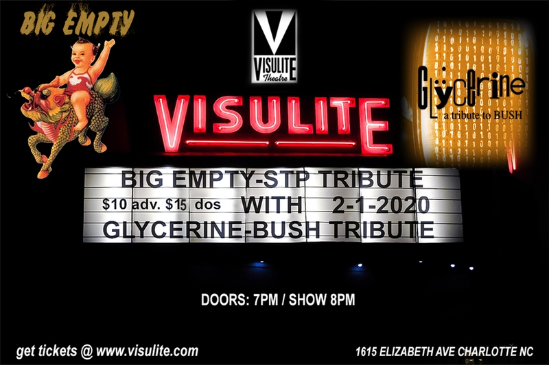 BIG EMPTY - Saturday, February 1, 2020 at Visulite Theatre