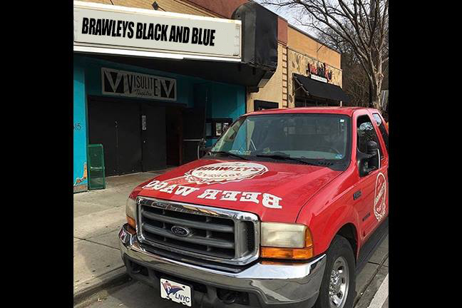 BRAWLEY'S BLACK AND BLUE 11 - CANCELED