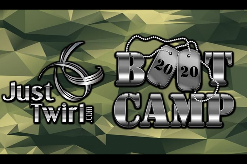 JUST TWIRL PRESENTS: BOOTCAMP 2020: Spring Training