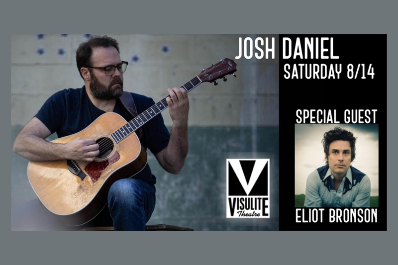 JOSH DANIEL (FULL BAND) - Saturday, August 14, 2021 at Visulite Theatre